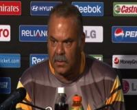 Dave Whatmore speaks before match against Australia