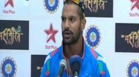 100 vs WI boosted my confidence, says Shikhar Dhawan