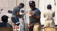 Sachin Tendulkar practices in nets ahead of last Test