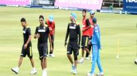 Indians practice ahead of 1st ODI vs SA