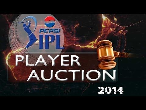 Indian Premier League players auction in 2014 Edition