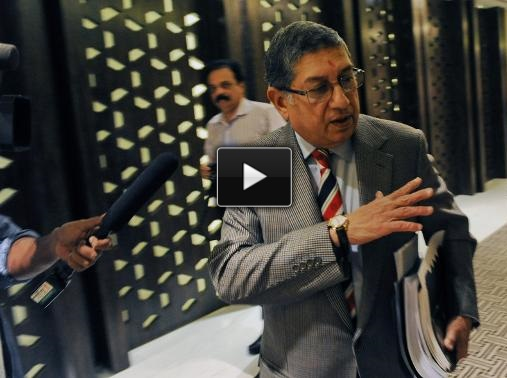 IPL Spot-fixing: SC asks Srinivasan to step down for fair probe