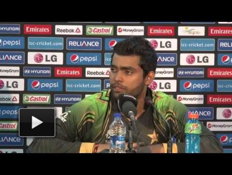 Umar Akmal Press Conference post Australia win
