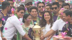 Exclusive: KKR Felicitation Ceremony after IPL 7 Title