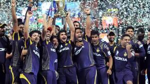 Kolkata celebrates after IPL 7 victory