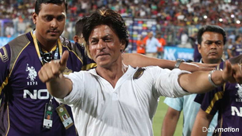 Watch Shah Rukh Khan's Victory Dance after IPL 7 Title