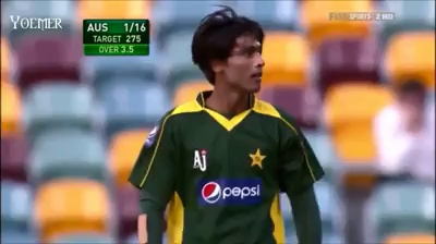 Mohammad Amir at his best against Australia with Fast & Swinging bowling