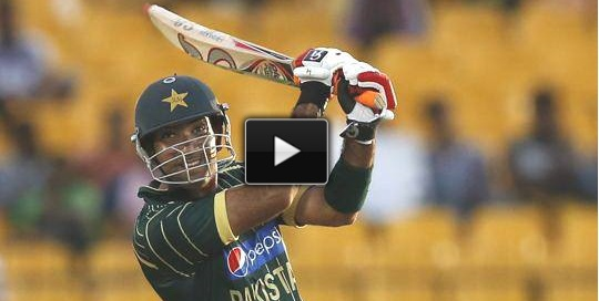 Sohaib Maqsood 89 Runs vs Sri Lanka in 1st ODI – Highlights