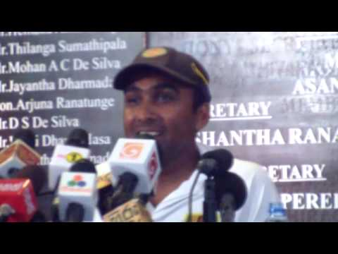 Mahela Jayawardene farewell address during press conference