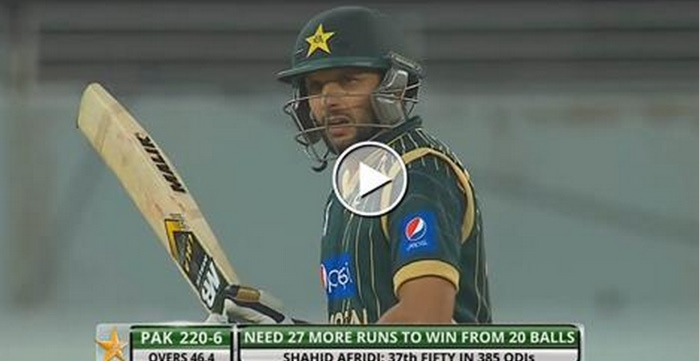 Highlights of BOOM BOOM Shahid Afridi 61 runs 51 Balls against New Zealand