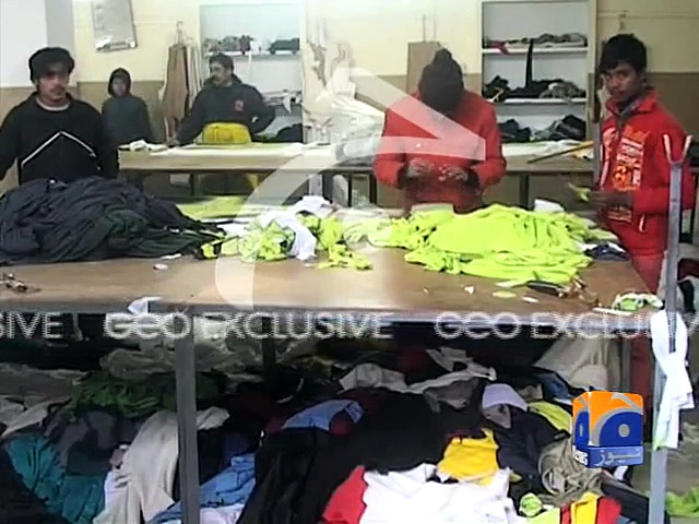 Pakistan Team Kit for ICC Cricket World Cup 2015
