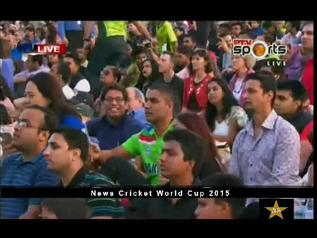 Jazba Junoon song performed during Pakistan World Cup 2015 Opening Ceremony