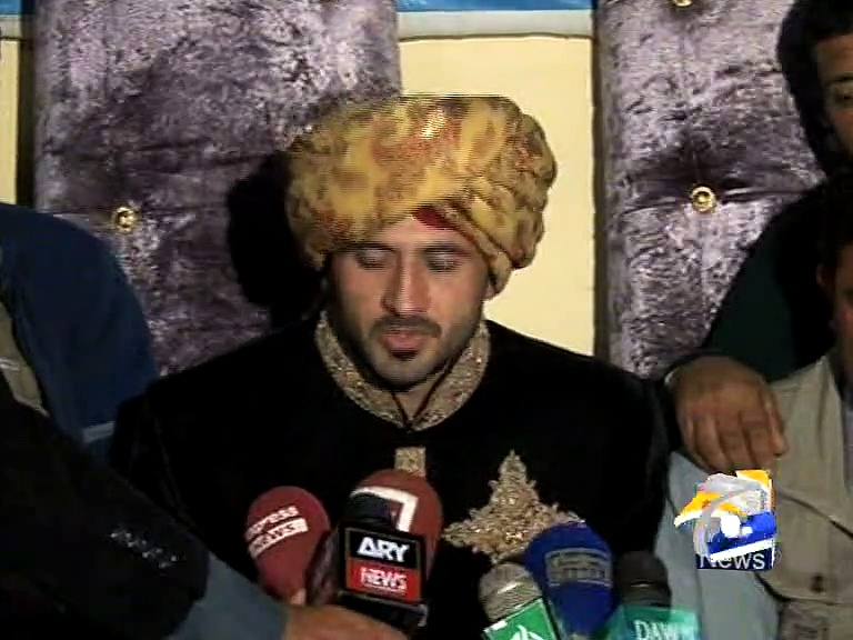 Junaid Khan Interview on his Wedding day