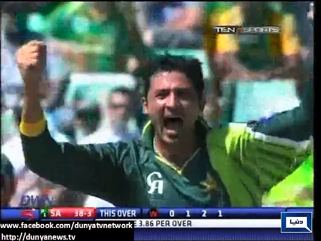 Junaid Khan out of Pakistan's World Cup squad
