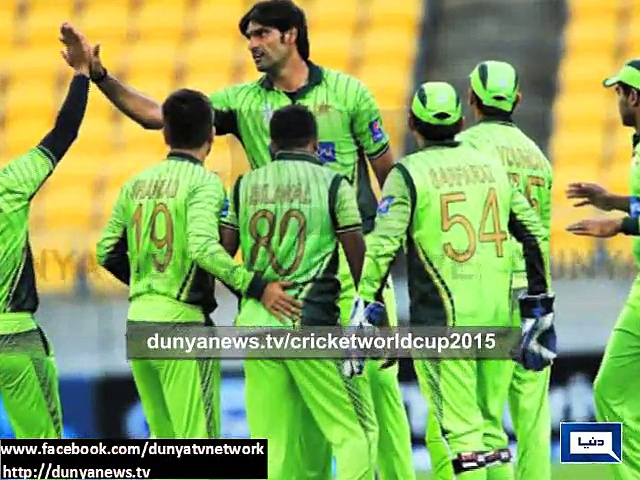 Pakistan beat Bangladesh by 3 Wkts in World Cup warm up match