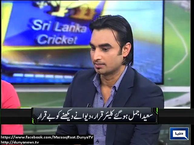 Pakistan needs Saeed Ajmal in World Cup: Imran Nazir