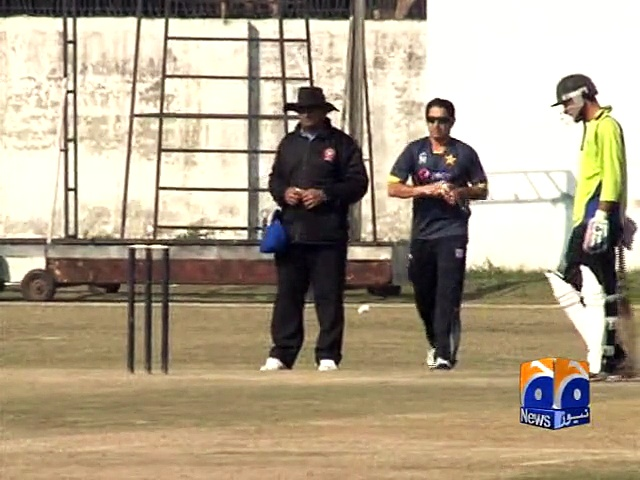 Saeed Ajmal play domestic match, may get a call for World Cup