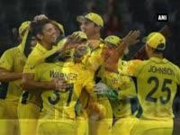 Australia 'record' 417-run total in 275-run win over Afghanistan in Cricket World Cup