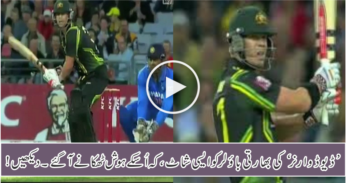 David Warner Hit switch For 6, Most Amazing Cricket Shot Ever