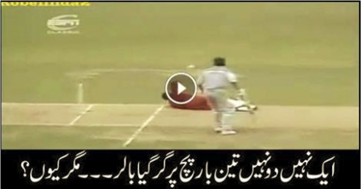 The Pitch Doesn't Want This Bowler To Bowl