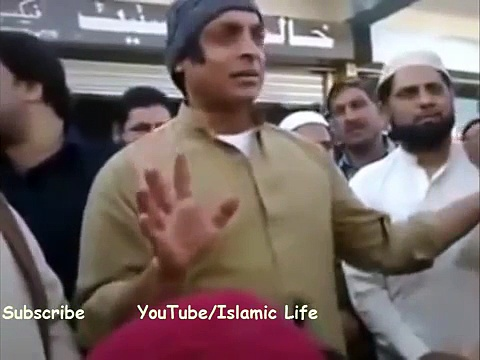 Shoaib Akhtar Bayan In Tableeghi Jamat – Must Watch